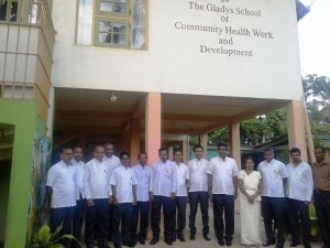 Government Officers visited Nest Gladys School which is on Kåre House