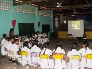 Health workshop with School Children